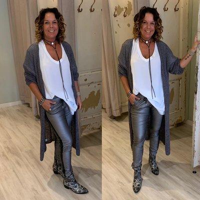 Cecila vest speciale grey