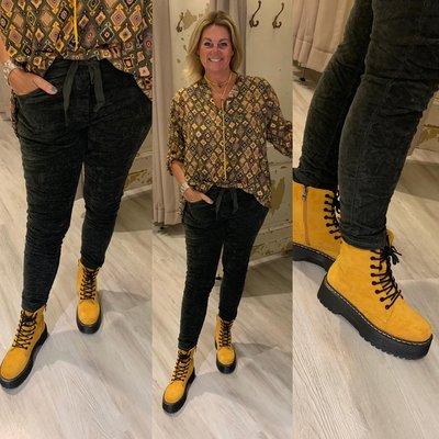 ASHLEY boots - oker
