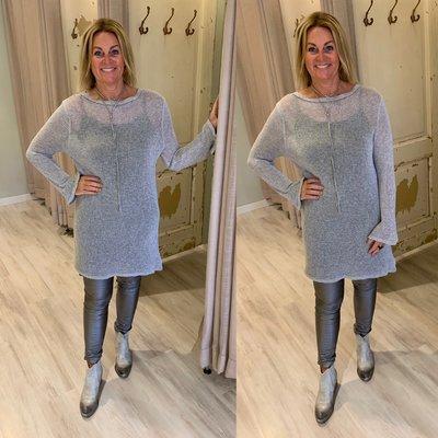 Assie shirt tuniek - grijs