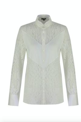 G MAXX Lilian Lace blouse - wit