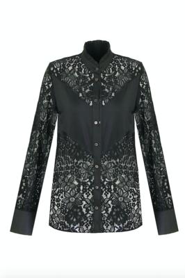G MAXX Lilian Lace blouse - zwart