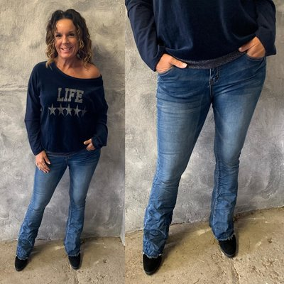 Flared stretch jeans Xanne