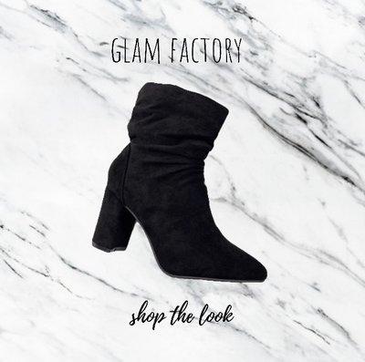 CLASSY boots suede zwart