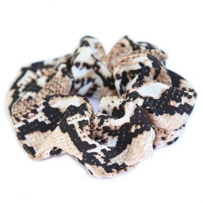 love ibiza Scrunchie satin Python