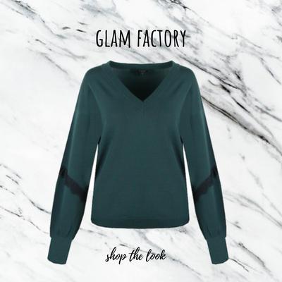 G MAXX sweater Vivian gucci green