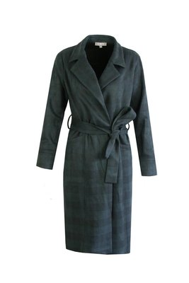C&S suede ruit jacket/blazer gucci green