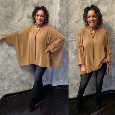 Nikky blouse - Camel