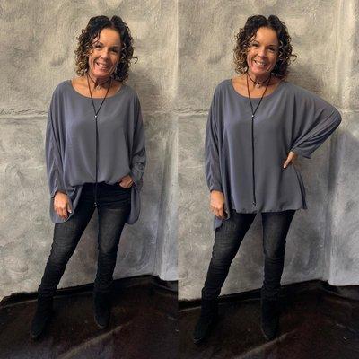 Nikky blouse - grey
