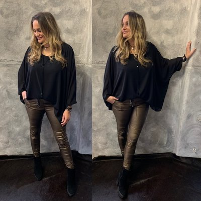 Nikky blouse - zwart