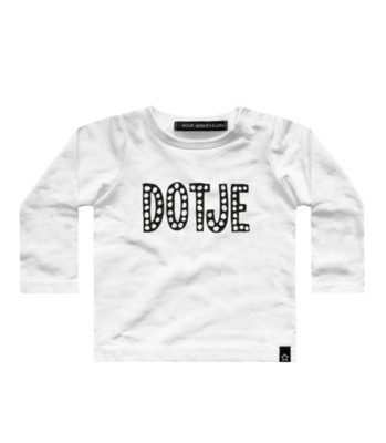 DOTJE T-SHIRT OFF WITHE