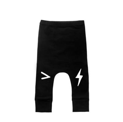 black lightning pants