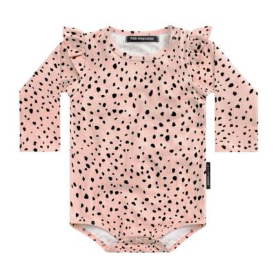 Cheetah - Pink | Ruffle Romper