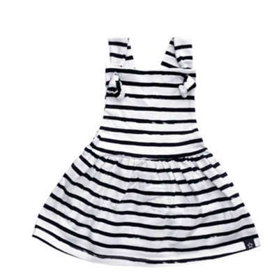 Stripes Off-White | Dungaree Dress