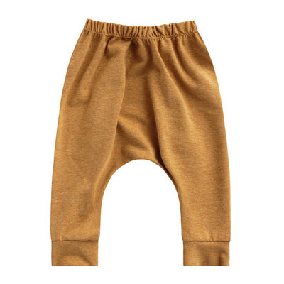 SOLID CAMEL BAGGY