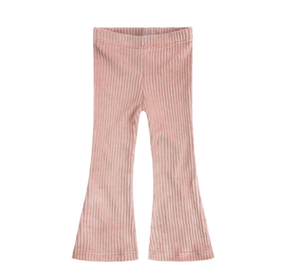 PINK RIBCORD | FLARED LEGGING
