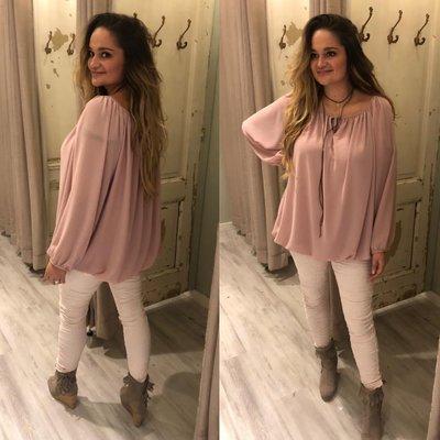 Maxime blouse roze