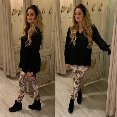 Cindy blouse - oker
