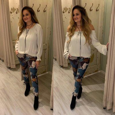 Marleen blouse - ecru