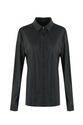 G MAXX basic travel blouse - zwart