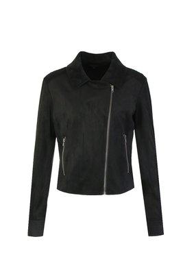 G MAXX Suede jacket - zwart