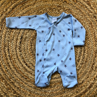 Newborn boxpakje star blue