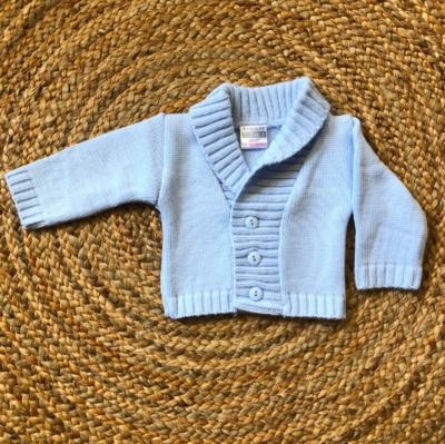Newborn vest Dailey blue
