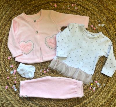 Newborn set Nola chic - roze