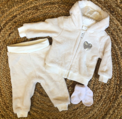 Newborn comfyset - wit