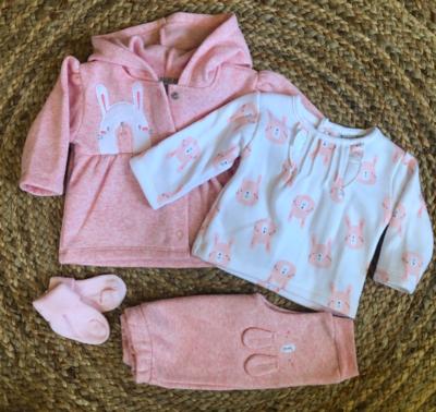 Newborn holly set - roze