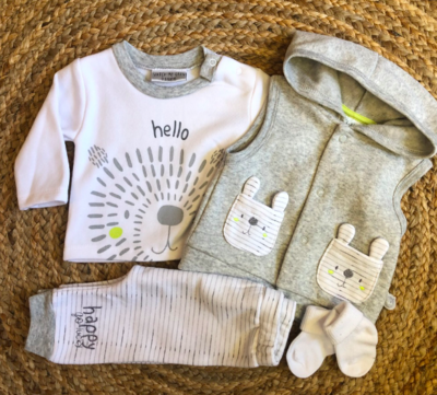 newborn happy set - wit