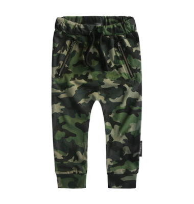 ARMY | ZIPPER JOGGING