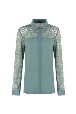 G MAXX Bianca blouse - sage