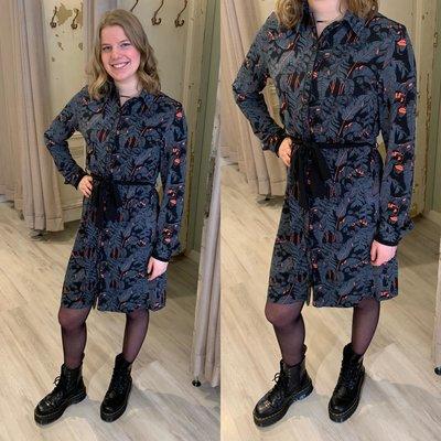 C&S leaves dress