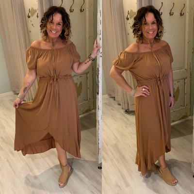 Bailey dress - CAMEL