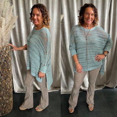 Mila sweater - Petrol