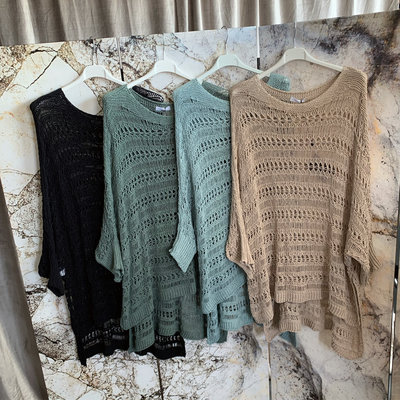 Mila sweater - zwart