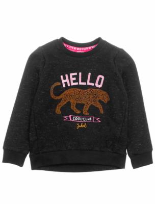 Feetje animal attitude - sweater hello