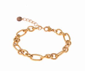 GO DUTCH LABEL -  Armband chain- goud