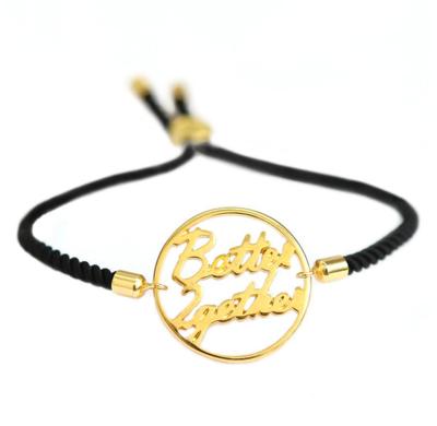 love ibiza - BETTER 2GETTER BRACELET BLACK GOLD