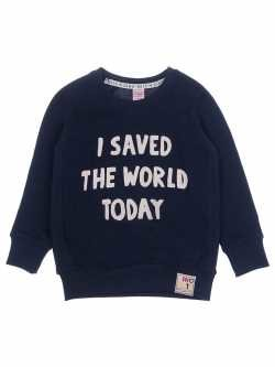 SWEATER - I SAVED THE WORLD - STURDY