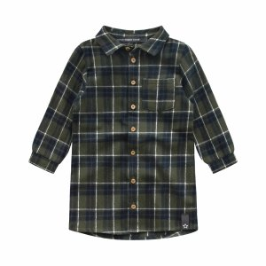 CHECKS   BLOUSE DRESS -  Your Wishes