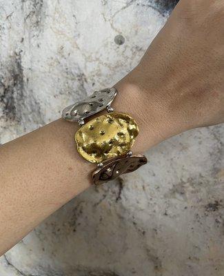 DIVA Bracelet ARMBAND - zilver/rosé/goud