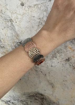 Danie Bracelet ARMBAND - zilver/rosé/goud