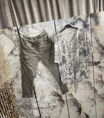 Bo Shirt met knopen - Grey
