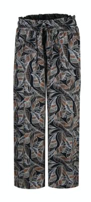 C&S Malissa broek zwart/off-white