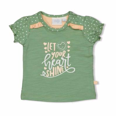 T-shirt Shine - Hearts - Feetje