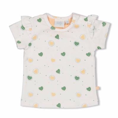 T-shirt AOP - Hearts - Feetje