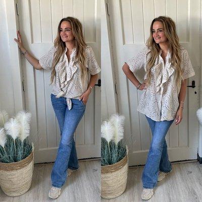 Jade Roesel blouse - beige