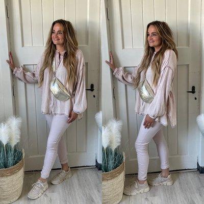 Babice blouse - oud roze