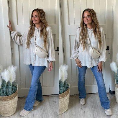 Babice blouse - beige